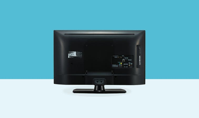 LG 32 inch commercial tv 32lu661h back view